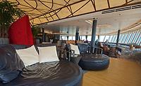 CT- Crow's Nest Lounge on HAL Koningsdam S. Caribbean Cruise, Caribbean Sea 3 19