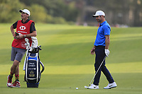 Paul Casey (ENG) on the 18th during the 2nd round of the WGC HSBC Champions, Sheshan Golf Club, Shanghai, China. 01/11/2019.<br /> Picture Fran Caffrey / Golffile.ie<br /> <br /> All photo usage must carry mandatory copyright credit (© Golffile   Fran Caffrey)