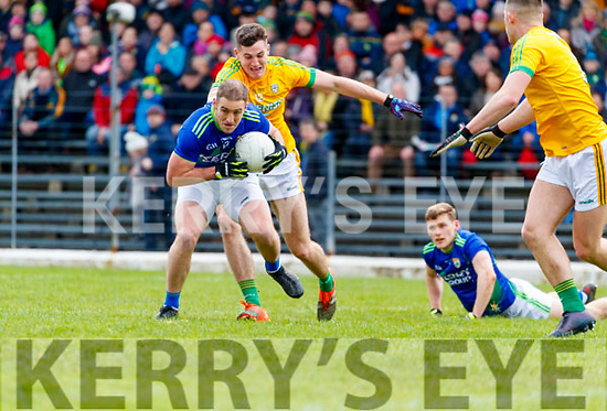 Stephen O'Brien, Kerry in action against Ethan Devine, Meath during the Allianz Football League Division 1 Round 4 match between Kerry and Meath at Fitzgerald Stadium in Killarney, on Sunday.