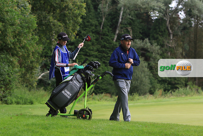 Damien McGrane (IRL) during Round 1 of the Northern Ireland Open at Galgorm Golf Club, Ballymena Co. Antrim. 10/08/2017<br /> Picture: Golffile | Thos Caffrey<br /> <br /> <br /> All photo usage must carry mandatory copyright credit (&copy; Golffile | Thos Caffrey)
