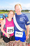 Sinead Horgan and Bob Walsh pictured at the Rose of Tralee International 10k Race in Tralee on Sunday.
