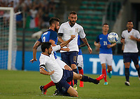 Davide Astori  during the  friendly  soccer match,between Italy  and  France   at  the San  Nicola   stadium in Bari Italy , September 01, 2016<br /> <br /> amichevole di calcio tra le nazionali di Italia e Francia