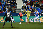 Leganes vs Villarreal Andres Fernandez In the area during Copa del Rey match. 20180104.
