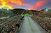 Praça da Apoteose no carnaval. Rio de Janeiro. Foto de Catherine Krulik. Data. 2002