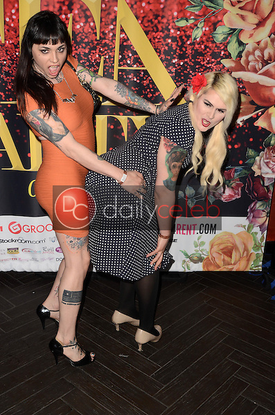 Trixxy Von Tease, Isabella Sorrenti<br /> at the 2017 Official Transgender Erotica Awards TEA Pre-Party, Avalon, Hollywood, CA 03-04-17<br /> David Edwards/DailyCeleb.com 818-249-4998