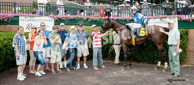 Mount Coronet winning at Delaware Park on 7/12/14
