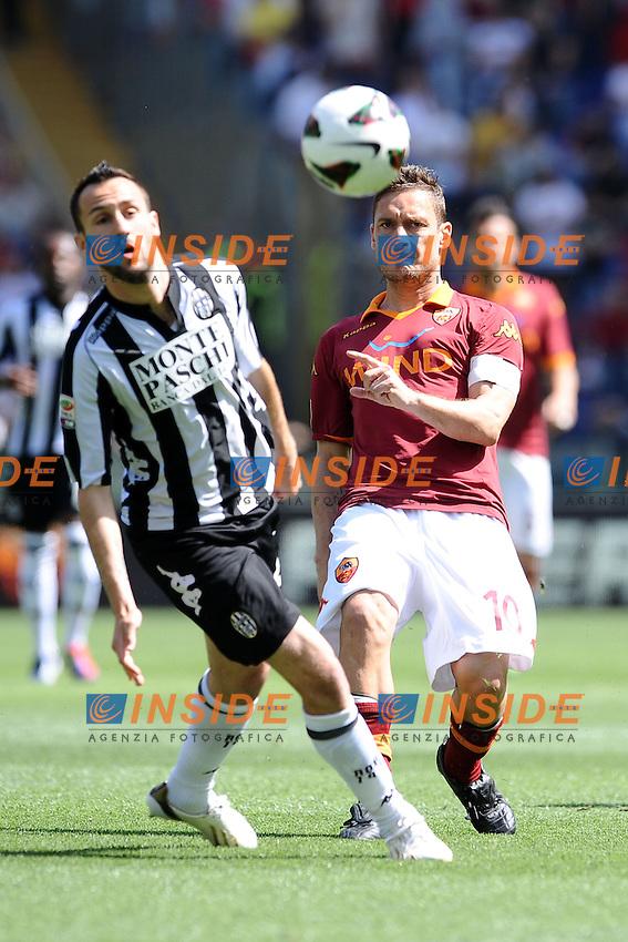 Francesco Totti Roma.28/04/2013 Roma.Stadio Olimpico.Football Calcio 2012 / 2013 .Campionato di Calcio Serie A.Roma vs Siena.Foto Insidefoto / Antonietta Baldassarre.