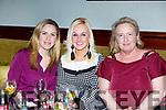 Enjoying the Aspen Grove Quiz Music Night in the Munster Bar on Friday night last. L-r, Elaine McElligott, Susan Lawlor and Maureen Hart.