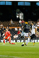 GOAL -Bristol Rovers' Ellis Harrison scores during the Carabao Cup match between Fulham and Bristol Rovers at Craven Cottage, London, England on 22 August 2017. Photo by Carlton Myrie.
