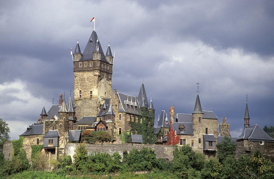 Cochem Castle, Cochem, Germany
