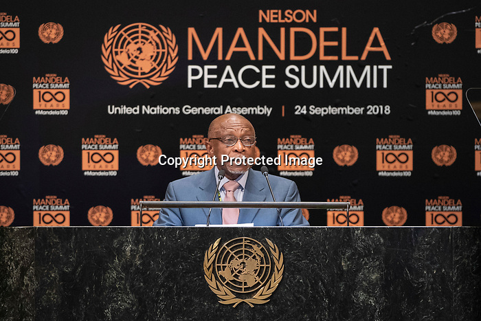 Opening Plenary Meeting of the Nelson Mandela Peace Summit<br /> <br /> GANA