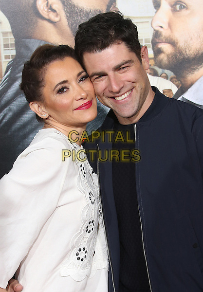 13 February 2017 - Westwood, California - Tess Sanchez, Max Greenfield. &quot;Fist Fight&quot; Los Angeles Premiere held at Regency Village Theatre. <br /> CAP/ADM/FS<br /> &copy;FS/ADM/Capital Pictures