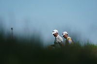 Dustin Johnson (USA) walking to the 13th tee during the 1st round at the PGA Championship 2019, Beth Page Black, New York, USA. 17/05/2019.<br /> Picture Fran Caffrey / Golffile.ie<br /> <br /> All photo usage must carry mandatory copyright credit (&copy; Golffile | Fran Caffrey)