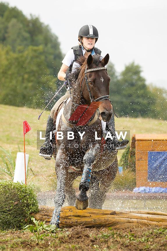 NZL-Chloe Phillips-Harris (COR JET) INTERIM-5TH: CIC2* CROSS COUNTRY: 2014 NZL-BNZ Kihikihi International Horse Trial (Saturday 12 April) CREDIT: Libby Law COPYRIGHT: LIBBY LAW PHOTOGRAPHY - NZL