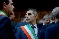 Roma, 18 Dicembre 2017<br /> Federico Pizzarotti sindaco di Parma.<br /> Riqualificazione periferie, firma Governo Sindaci
