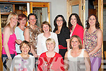 Lorraine Fitzgerald,Knocknagoshel(seated centre)celebrated her birthday last Friday night in Bella Bia restaurant,Tralee with some friends,also seated is Helen Cussack(Lt)and Helen Walsh(Rt).Back L-R Natasha O'Connor,Marie Mangan,Breda McGaley,Dolly Mangan,Theresa Walsh,Eileen Long with kitsy Fitzgerald.
