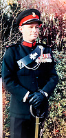 BNPS.co.uk (01202 558833)<br /> Pic: SusanBond/BNPS<br /> <br /> Susan's father Peter Curtis wearing his missing medals..<br /> <br /> Military museum in hot water over missing medals..<br /> <br /> A woman whose father and grandfather donated their highly-valuable gallantry medals to an army museum is furious they have disappeared having been suspiciously substituted for duplicates.<br /> <br /> Susan Bond, whose husband Richard is a retired crown court judge, discovered the two Military Cross groups at the The Royal Green Jackets Museum are not the ones bequeathed to them after one set appeared on the open market.<br /> <br /> Mrs Bond confronted the trustees at the museum, whose former Colonel-in-Chief was the Queen, but the 70-year-old has been left dismayed at their 'indifferent' response at the loss which they have been unable to properly explain.<br /> <br /> The owners - the museum based in Winchester, Hants - said they were satisfied that no criminal activity had taken place and the police investigation came to nothing.