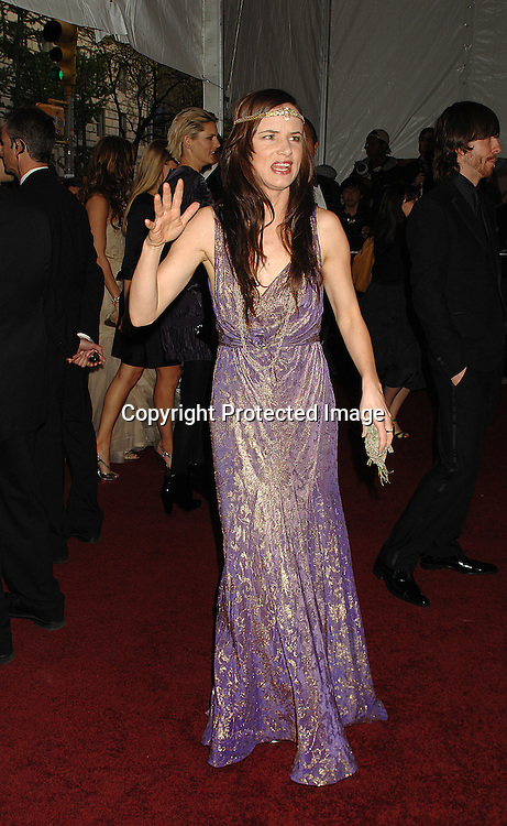Juliette Lewis..arriving at The Metropolitan Museum of Art's Costume Institute Gala on May 7, 2007 in New York City. The Gala celebrates the exhibition: Poiret: King of Fashion..Robin Platzer, Twin Images......212-935-0770