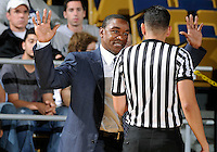 Florida International University Head Coach Isiah Thomas during the game against Alabama State University, which won the game 60-57 on December 3, 2011 at Miami, Florida. .