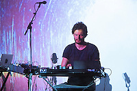 Apparat (Sascha Ring) preforms live at Auditorium Parco della Musica, ROME, Italy on 2 October 2015. Photo by Valeria  Magri.