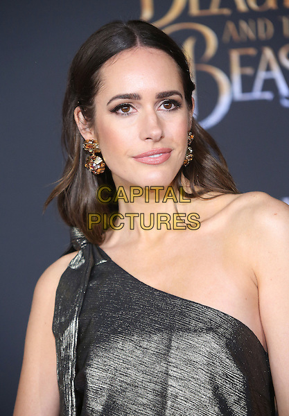02 March 2017 - Hollywood, California - Louise Roe. Disney's &quot;Beauty and the Beast' World Premiere held at El Capitan Theatre.   <br /> CAP/ADM/FS<br /> &copy;FS/ADM/Capital Pictures