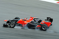 German Timo Glock on Marussia MR01.24/03/2012 Grand Prix Malesia, Sepang , Essais..Foto Insidefoto  /Bernard Asset / Panoramic.ITALY ONLY..