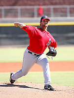 Shane Loux / Los Angeles Angels 2008 Instructional League..Photo by:  Bill Mitchell/Four Seam Images