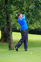 Niall Carroll (Athlone) on the 3rd tee during round 1 of The Mullingar Scratch Cup in Mullingar Golf Club on Sunday 3rd August 2014.<br /> Picture:  Thos Caffrey / www.golffile.ie
