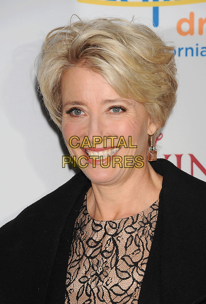BURBANK, CA- DECEMBER 09: Emma Thompson at the 'Saving Mr. Banks' - Los Angeles Premiere at Walt Disney Studios on December 9, 2013 in Burbank, California.<br /> CAP/ROT/TM<br /> &copy;Tony Michaels/Roth Stock/Capital Pictures