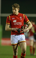 Wales U20's Phil Jones in action<br /> <br /> Photographer Alex Dodd/CameraSport<br /> <br /> RBS Six Nations U20 Championship Round 4 - Wales U20s v Ireland U20s - Saturday 11th March 2017 - Parc Eirias, Colwyn Bay, North Wales<br /> <br /> World Copyright &copy; 2017 CameraSport. All rights reserved. 43 Linden Ave. Countesthorpe. Leicester. England. LE8 5PG - Tel: +44 (0) 116 277 4147 - admin@camerasport.com - www.camerasport.com
