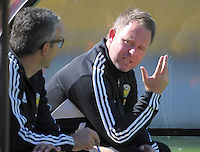 131214 ASB Premiership Football - Team Wellington v Wanderers SC