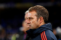 25th February 2020; Stamford Bridge, London, England; UEFA Champions League Football, Chelsea versus Bayern Munich; Bayern Munich manager Hans-Dieter Flick looks on from the touchline