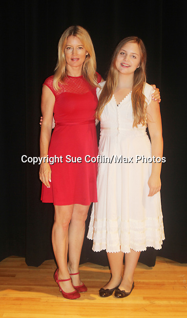 """Guiding Light's Cynthia Watros stars with her daughter Emma Gilliland in """"Breathing Under Dirt"""" - full play - had its world premier on August 13 and 14, 2016 at the Ella Fitzgerald Performing Arts Center, University of Maryland Eastern Shore, Princess Anne, Maryland  (Photo by Sue Coflin/Max Photos)"""