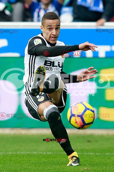 Valencia CF's Rodrigo Moreno during La Liga match. October 28,2017. (ALTERPHOTOS/Acero) /NortePhoto.com