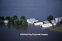 63816-01218 Farm north of Valmeyer Flood of '93, 8/6/93    IL