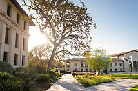 General campus photo of Occidental College, including the quad, Nov. 17, 2017.<br />