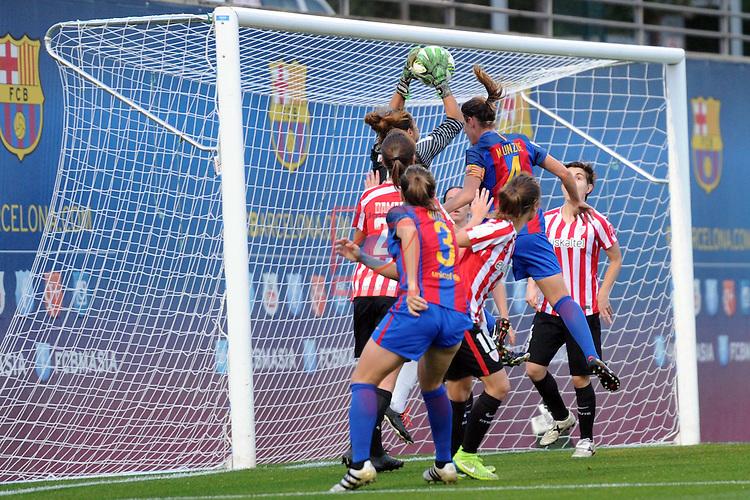 Spanish Women's Football League Iberdrola 2016/17 - Game: 11.<br /> FC Barcelona vs Athletic Club: 2-1.