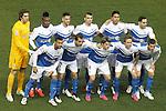 UD Almeria's team photo during La Liga match.February 21,2015. (ALTERPHOTOS/Acero)