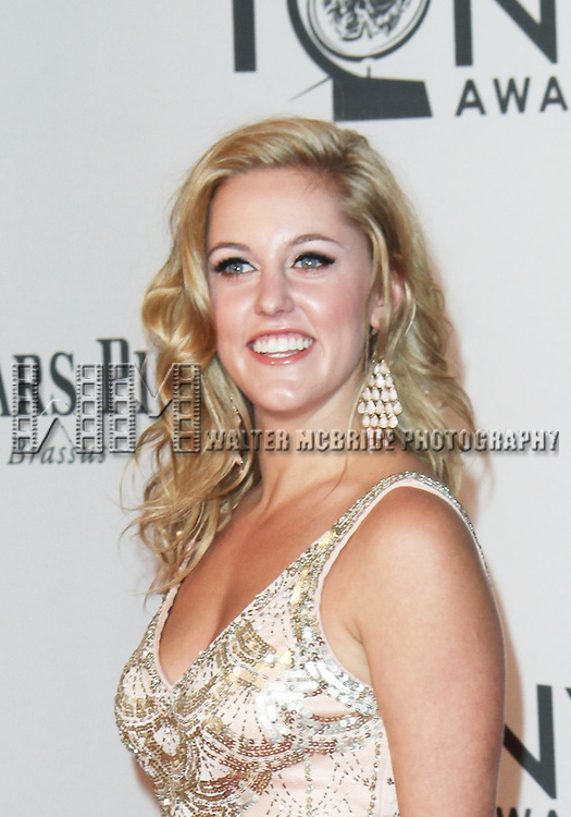 Taylor Louderman pictured at the 66th Annual Tony Awards held at The Beacon Theatre in New York City , New York on June 10, 2012. © Walter McBride / WM Photography