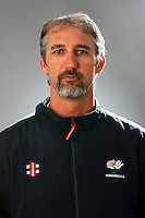 PICTURE BY VAUGHN RIDLEY/SWPIX.COM - Cricket - County Championship Div 2 - Yorkshire County Cricket Club 2012 Media Day - Headingley, Leeds, England - 29/03/12 - Yorkshire's Jason Gillespie.