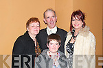 .Celebrating Jimmy Deenihan's 25th Anniversary in The Listowel Arms Hotel on Friday night were Tom, Breda, Annette, and Bronagh Enright from Ballylongford. ...   Copyright Kerry's Eye 2008