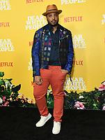 "01 August 2019 - Los Angeles, California - Justin Simien. Netflix's ""Dear White People"" Season 3 Los Angeles Premiere held at TRegal Cinemas LA Live. Photo Credit: Birdie Thompson/AdMedia"