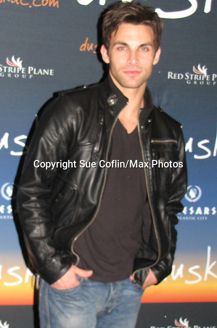 "Erik Fellows ""Troy"" Days of our Lives at the Party at Dusk Nightclub at Caesar's Atlantic City, New Jersey on March 13, 2010. (Photo by Sue Coflin/Max Photos)"