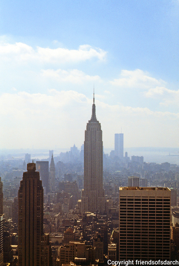 New York City: Empire State Building from RCA roof.