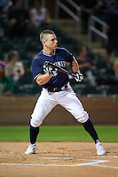 Peoria Javelinas Tyler O'Neill (11), of the Seattle Mariners organization, during the Bowman Hitting Challenge on October 8, 2016 at the Salt River Fields at Talking Stick in Scottsdale, Arizona.  (Mike Janes/Four Seam Images)
