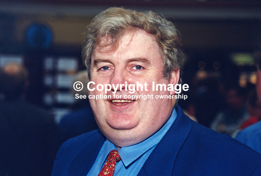 Jimmy Hood, MP, Labour Party, UK, 19961012JH..Copyright Image from Victor Patterson, 54 Dorchester Park, Belfast, UK, BT9 6RJ..Tel: +44 28 9066 1296.Mob: +44 7802 353836.Voicemail +44 20 8816 7153.Skype: victorpattersonbelfast.Email: victorpatterson@mac.com.Email: victorpatterson@ireland.com (back-up)..IMPORTANT: If you wish to use this image or any other of my images please go to www.victorpatterson.com and click on the Terms & Conditions. Then contact me by email or phone with the reference number(s) of the image(s) concerned.