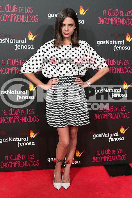 Macarena Gomez attend the Premiere of the movie &quot;El club de los incomprendidos&quot; at callao Cinema in Madrid, Spain. December 1, 2014. (ALTERPHOTOS/Carlos Dafonte) /NortePhoto<br /> /NortePhoto