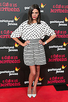 Macarena Gomez attend the Premiere of the movie &quot;El club de los incomprendidos&quot; at callao Cinema in Madrid, Spain. December 1, 2014. (ALTERPHOTOS/Carlos Dafonte) /NortePhoto<br />