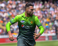Mohammad Amir in action during the One Day International cricket match between the NZ Black Caps and Pakistan at the Basin Reserve in Wellington, New Zealand on Saturday, 6 January 2018. Photo: Dave Lintott / lintottphoto.co.nz