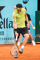 Japanese Kei Nishikori during Mutua Madrid Open Tennis 2016 in Madrid,  May 06, 2016. (ALTERPHOTOS/BorjaB.Hojas) /NortePhoto.com /NortePhoto